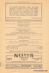 American Music Hall Boston Programme Booklet Nov 23 1908 -3
