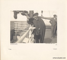 Art Print of Sir Harry On SS Letitia 1932