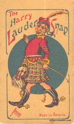 Card Game Harry Lauder Snap