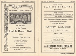 Casino Theatre New York Program Booklet Dated Jan 15 1914 -2