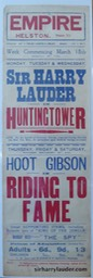 Empire Theatre Helston Huntingtower March 1929?