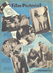 Film Pictorial Sir Harry With Gary Cooper Aug 7 1937