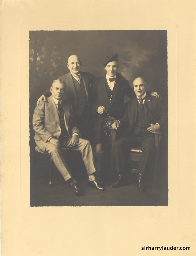 Fine Art Photo Sir Harry With Unidentified Group By Fraser San Francisco Undated