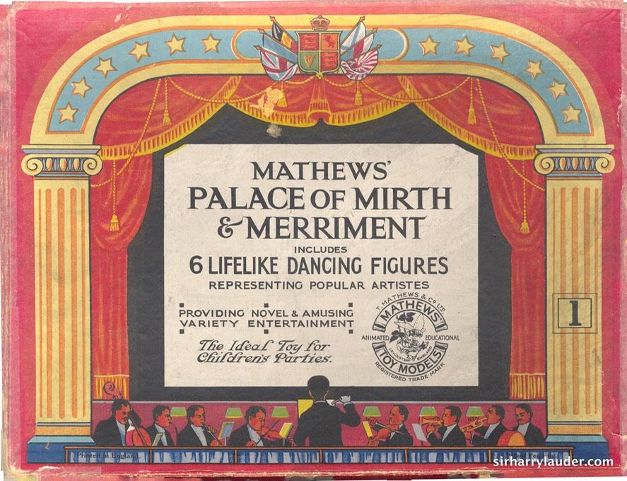 Game Matthews Palace Of Mirth & Merriment Cover