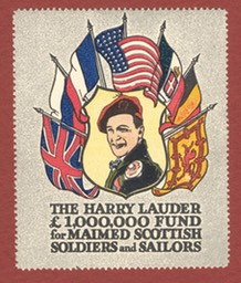 Harry Lauder Fund Stamp