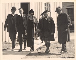 Harry Lauder Lillian Gish Thomas Ince & Others California Undated
