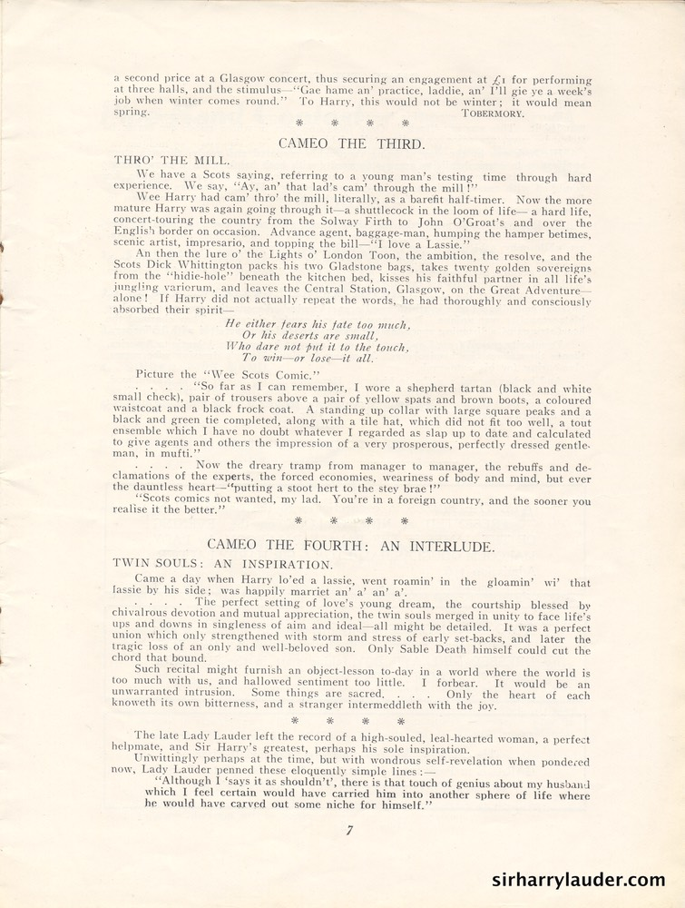 Highland Gathering Isle Of Man Programme Jul 18 1932 -4