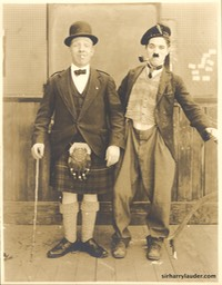 Lauder & Chaplin Sepia Photo Undated