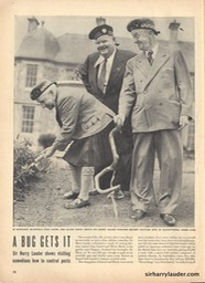 Life Magazine Photo Sir Harry With Laurel & Hardy July 7 1947