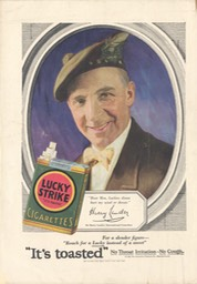 Magazine Promotion Lucky Strike Couintry Life Press 1928