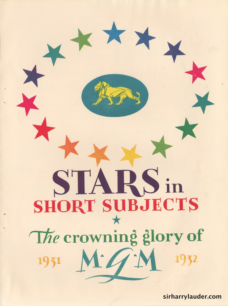MGM Stars In Short Subjects 1931 32 -1