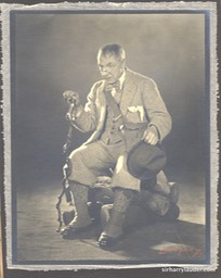 Movie Still HuntingtowerMounted On Tissue & Board Undated