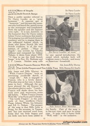 New Victor Records Booklet Article & Photo Jan 1922
