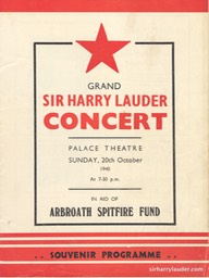 Palace Theatre Arbroath Grand Concert Programme Booklet Oct 20 1940 -01