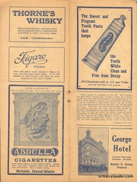 Palace Theatre Sydney Programme Booklet July 12 1919 -4