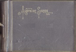 Photo Album Australian Scenes Presented To Sir Harry By The Prime Minister Of Australia Cover 1919