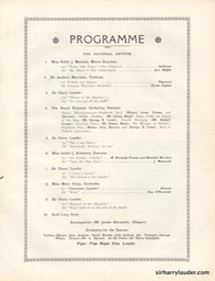Picture House Arbroath Sir Harry Lauder's Jubilee Program Booklet Aug 24 1932 -4