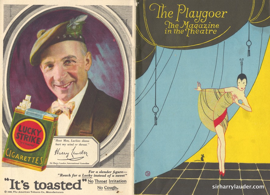 Playgoer Magazine Chicago Advertisement Dated Mar 31 1929
