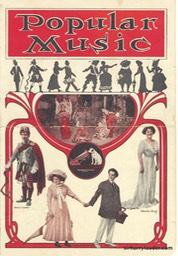 Popular Music Victor Pamphlet Cover 1911