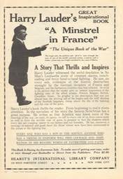 Promotion For A Minstrel In France Good Housekeeping August 1918