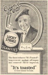 Promotion For Lucky Strike Cigarettes 1928