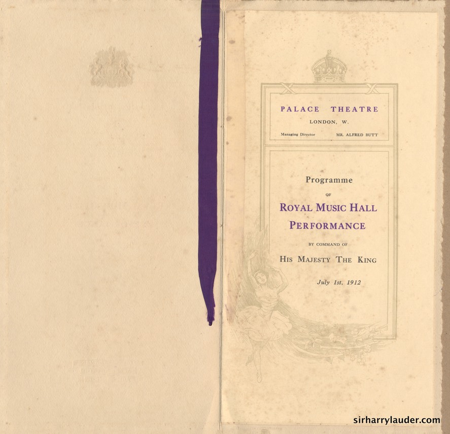 Royal Music Hall Performance July 1 1912 -2