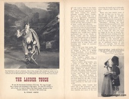 Scots Magazine Aritcle The Lauder Touch July 1970 -1