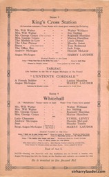 Shaftesbury Theatre London Three Cheers Programme Booklet No 1 1916-17 -4