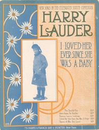 Sheet Music Ive Loved Her Ever Since She Was A Baby TB Harms & Francis Day & Hunter NY 1919