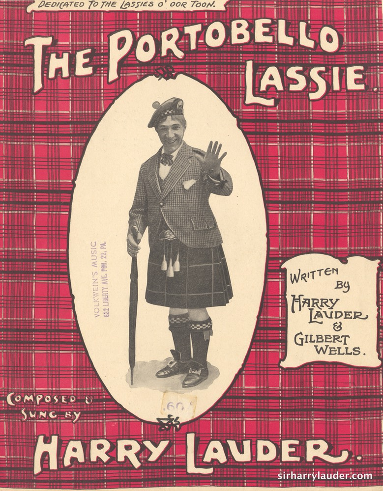Sheet Music Portobello Lassie Francis Day & Hunter London 1914