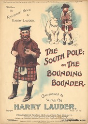 Sheet Music The Bounding Bounder Francis Day & Hunter London** 1909