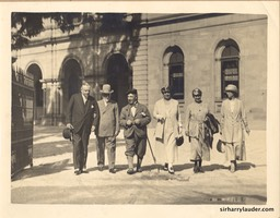 Sir Harry & Lady Lauder Group Photo Brisbane Undated 1