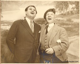 Sir Harry & Met Opera Singer Mario Chamlee Dated 1928