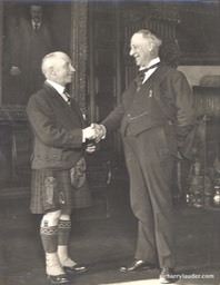 Sir Harry & NY Gov. Al Smith 1924**