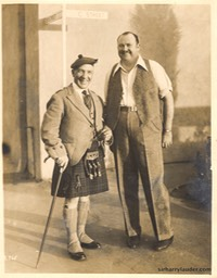 Sir Harry & Paul Whiteman Dated Jan 1931