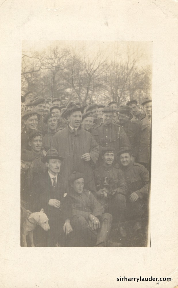 Sir Harry & Scottish Horse Field Ambulance Postcard