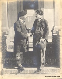 Sir Harry & Sir Charles Chaplin Undated