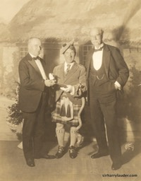 Sir Harry & Sir Thomas Lipton With Unidentified Undated