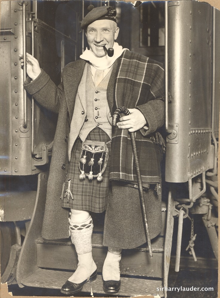 Sir Harry Arrives Chicago Michigan Central RR Feb 1930