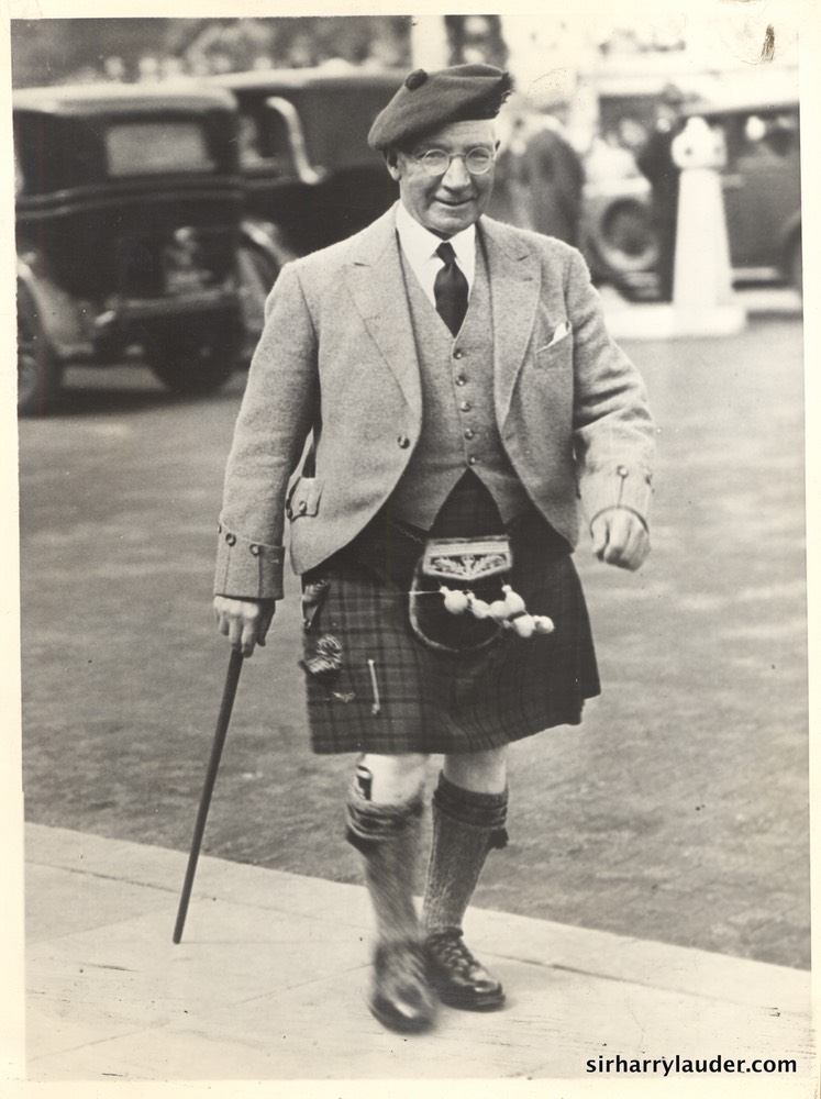 Sir Harry at Buckingham Palace 1931