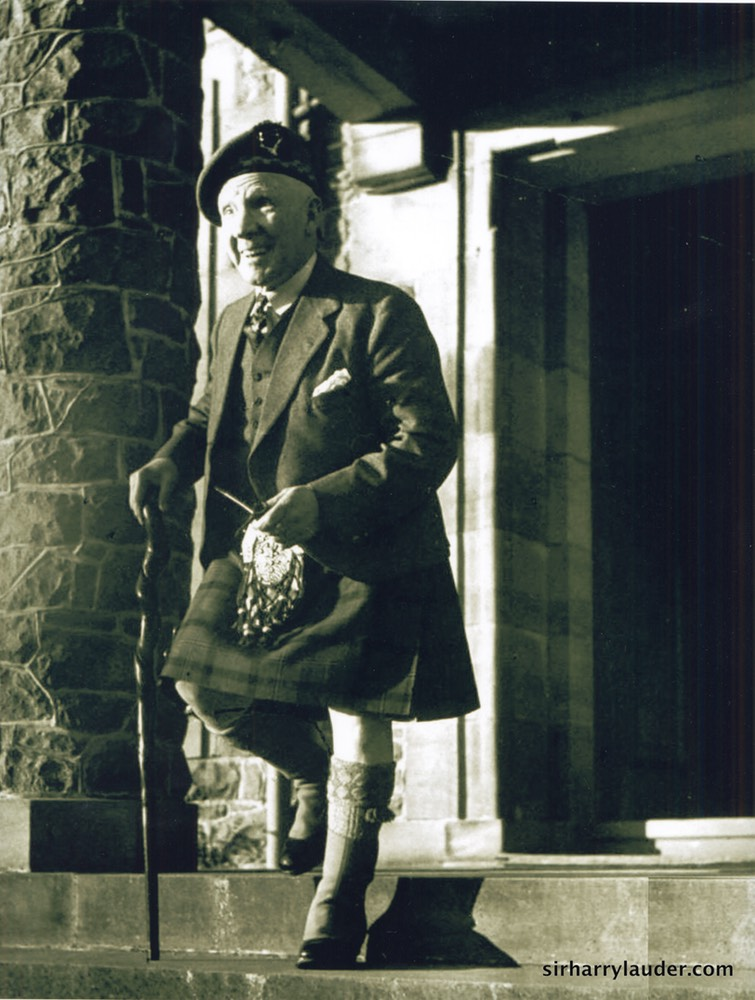 Sir Harry At Lauder Ha' Prob 1948 Repro Photo Undated