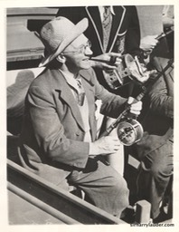 Sir Harry Fishing In Australia 1937