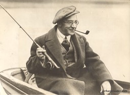 Sir Harry Fishing In Yorkshire 1926
