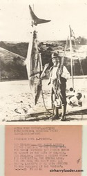 Sir Harry Fishing New Zealand Dated 1929