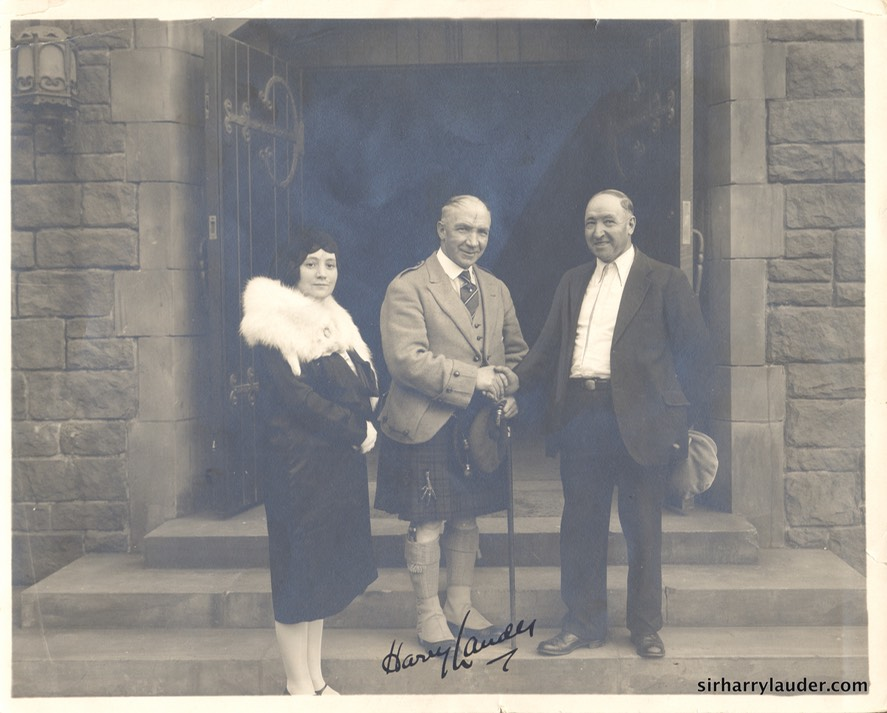 Sir Harry Greta & Matt Lauder Autographed Undared Verso Pencil Strathaven