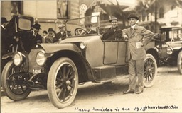 Sir Harry In Hudson Car Detroit 1913