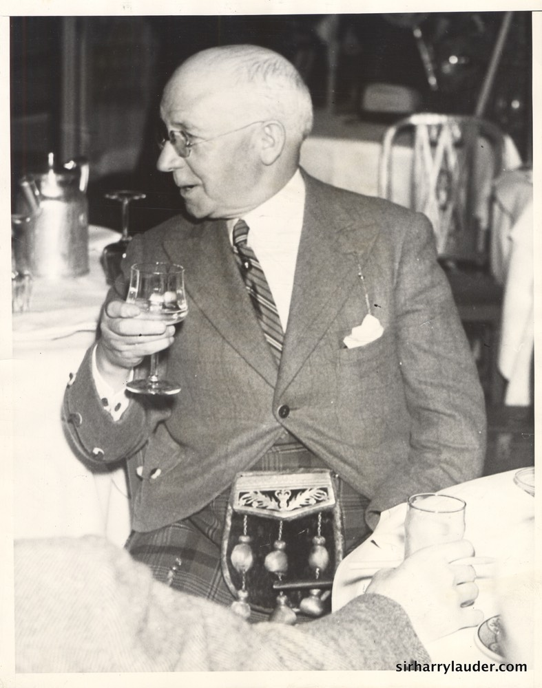Sir Harry In Los Angeles Date Stamped May 1937