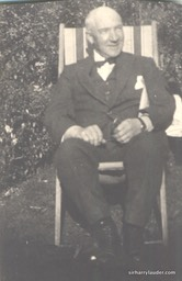 Sir Harry Seated Outdoors Undated