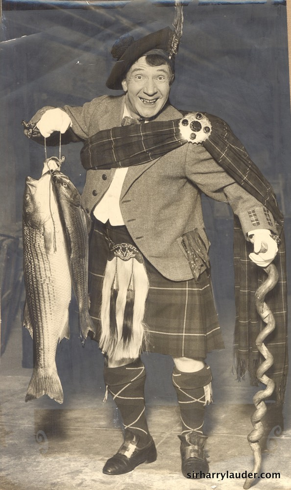 Sir Harry With Fish Verso Dated Oct 25 1923