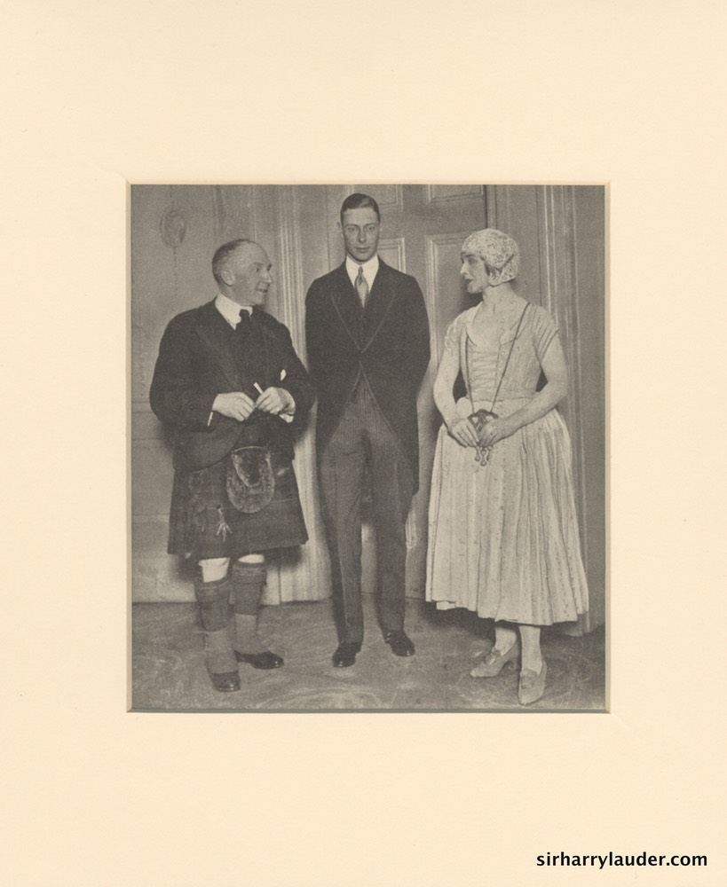 Sir Harry With King George VI & Maggie Teyte 1935?